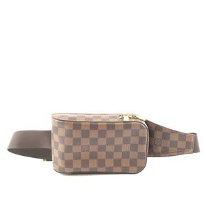 Géronimos Bum bag Damier Ébène Canvas Baguette